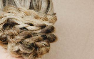 Bridal braid, wedding hair by Zinke Hair Studio